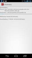 Screenshot of Dictionary Offline