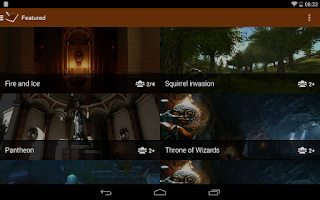 Screenshot of Magic Storytelling