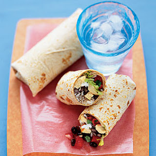 Spicy Black Bean Burritos