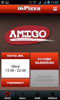 Screenshot of Amigo Restaurant