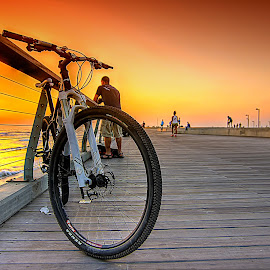 NAMAL TELAVIV by JOel Adolfo - Transportation Bicycles ( transportation, bicycle )