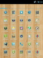 Screenshot of Glass Frame Icon Pack