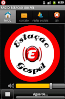 Screenshot of RADIO ESTACAO GOSPEL