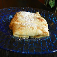 Apple Filled Crepes