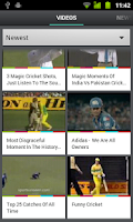 Screenshot of Cricket Videos