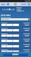 Screenshot of Michigan Lottery Mobile