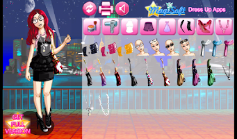 Screenshot of Dress Up Jill Chic Lite