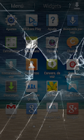 Screenshot of Crack Screen Prank