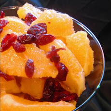 Orange-Cranberry Compote