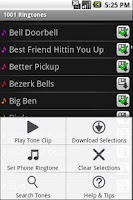 Screenshot of 1010 Android Ringtones Lite