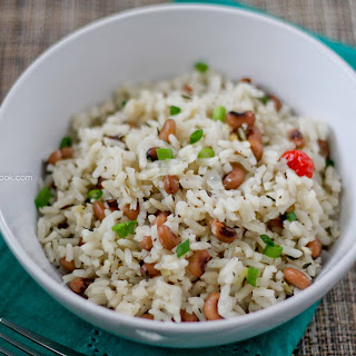 BLACK EYED PEAS AND RICE