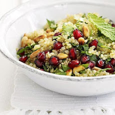 Quinoa, Herb & Pomegranate Salad
