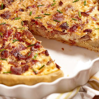 Chicken Bacon Quiche Recipes