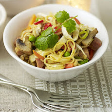 Turkey Singapore noodles