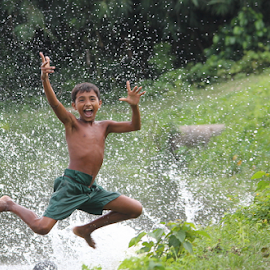 jump by Jayanta Pramanick - Babies & Children Children Candids (  )