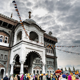 Gravesend Sikh Temple by Mark Richard Day - Buildings & Architecture Places of Worship ( temple, sikh, gravesend, 2014, festival, vaisakhi, worship )