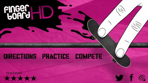 Fingerboard HD Skateboarding - screenshot