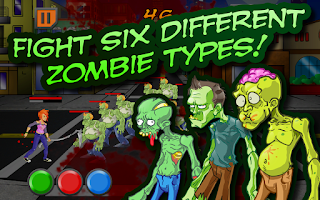 Screenshot of ZomNomNom Free - Zombie Game