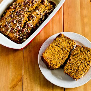 Low-Sugar and Whole-Wheat Pumpkin Banana Bread