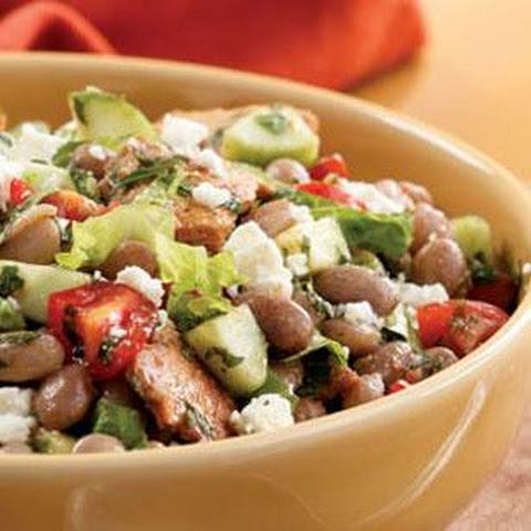 Fattoosh Mixed Herb and Toasted Pita Salad Recept | Yummly