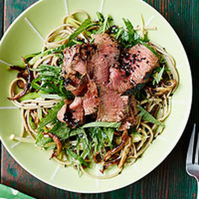 Flatiron Steak Soba