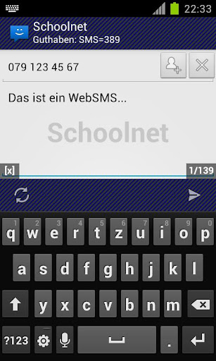 WebSMS: Schoolnet Connector