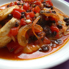 Cod Baked With Currants