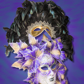 masks by Vibeke Friis - Artistic Objects Clothing & Accessories ( masks,  )