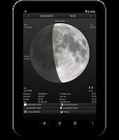 Screenshot of Lunafaqt sun and moon info