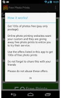 Screenshot of Free Photo Prints