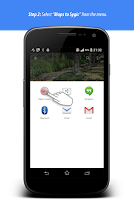 Screenshot of GPS Bridge - fast place finder