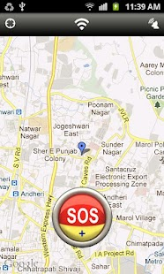 SOS My Location - GPS Tracker - screenshot