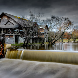 Historical Old Mill restaurant by IMade Budaryawan - Buildings & Architecture Public & Historical ( dollywood, pigeon forge, patriot park, dolly parton, tennessee, old mill restaurant, gatlinburg, smoky mountains )