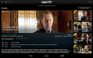 Screenshot of HBO GO Poland
