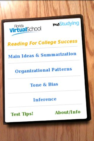 meStudying: Reading College