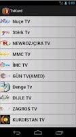 Screenshot of Kurdish TV