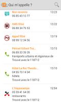 Screenshot of Qui m'appelle?