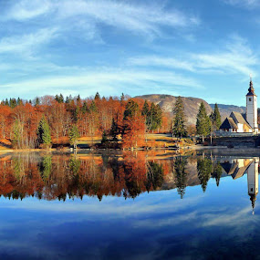 morning Fairy Tale by Anže Papler - Landscapes Waterscapes