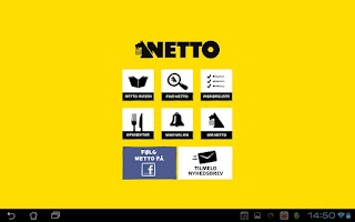 Screenshot of Netto