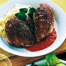 Cinnamon-Roasted Chicken with Harissa Sauce