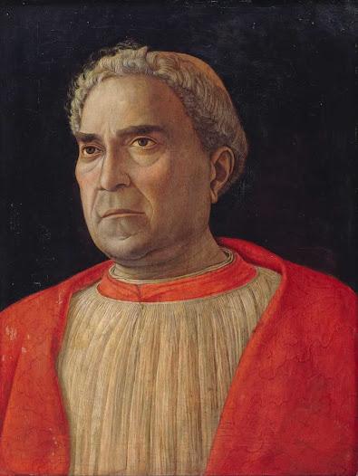 Mantegna Andrea, il cardinale Lodovico Trevisano