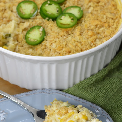 Jalapeno Scalloped Corn