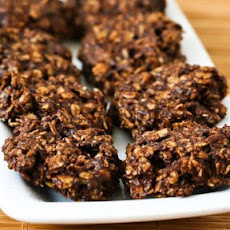 Chocolate and Oatmeal Cluster Cookies