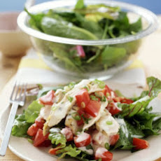 Chicken Salad with Lemon-Yogurt Dressing