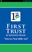 Screenshot of First Trust & Savings Bank