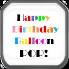 The Birthday Balloon Pop Game icon