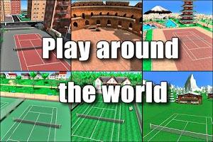 Screenshot of Hit Tennis 3