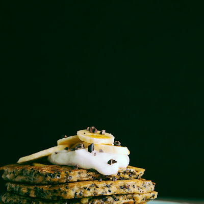 Coconut, Almond + Quinoa Breakfast Cakes