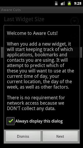 Aware Cuts