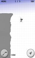 Screenshot of Stickman Cliff Diving